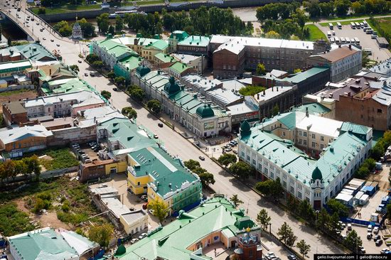 Omsk from above, Russia, photo 6