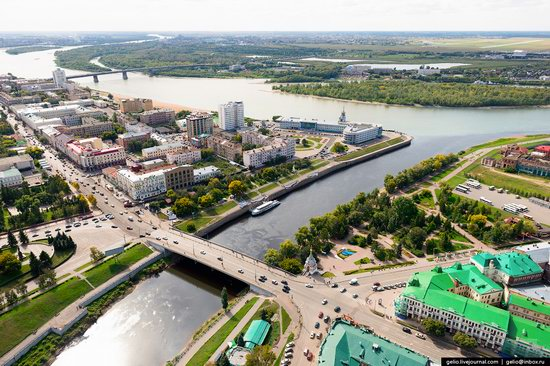 Omsk from above, Russia, photo 8