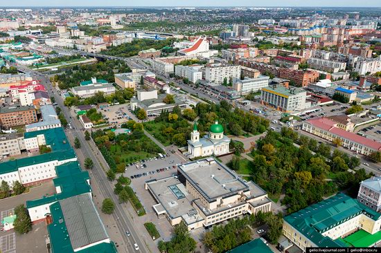 Omsk from above, Russia, photo 9