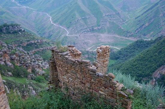 Abandoned Gamsutl village, Dagestan, Russia, photo 13