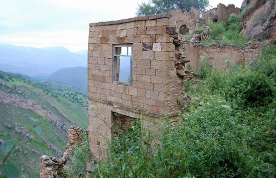 Abandoned Gamsutl village, Dagestan, Russia, photo 22