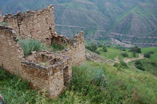 Abandoned Gamsutl village, Dagestan, Russia, photo 24
