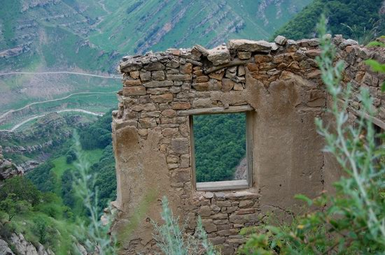 Abandoned Gamsutl village, Dagestan, Russia, photo 9