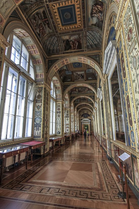 The Interiors of the Winter Palace, St. Petersburg, Russia, photo 13
