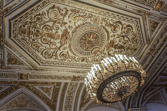 The Interiors of the Winter Palace, St. Petersburg, Russia, photo 9