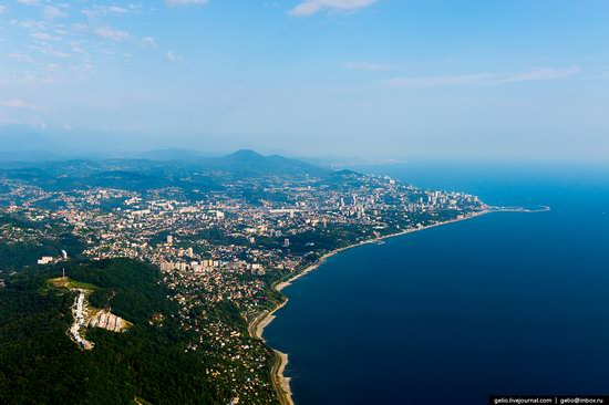 Sochi from above, Russia, photo 2