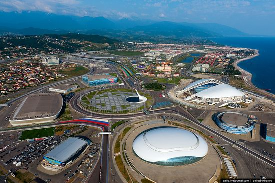Sochi from above, Russia, photo 21
