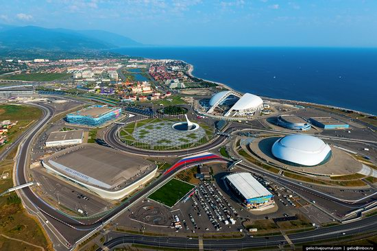 Sochi from above, Russia, photo 23