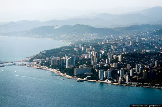 Sochi from above, Russia, photo 27