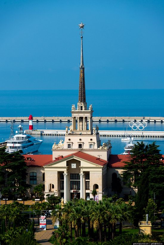 Sochi from above, Russia, photo 3