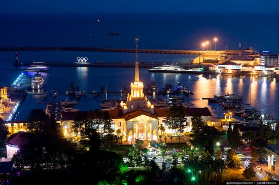 Sochi from above, Russia, photo 4