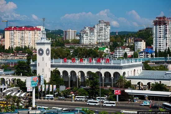 Sochi from above, Russia, photo 5