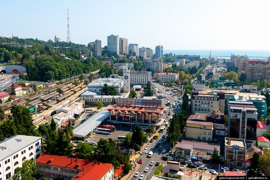 Sochi from above, Russia, photo 6
