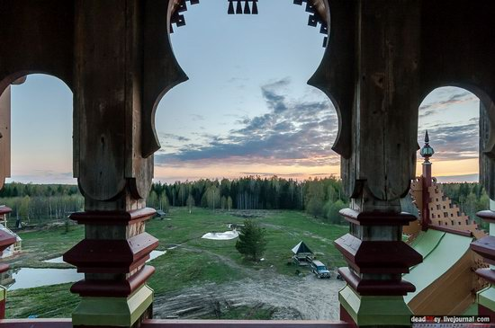 Wooden Palace in Astashovo, Kostroma region, Russia, photo 11
