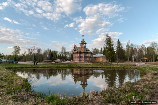 Wooden Palace in Astashovo, Kostroma region, Russia, photo 15