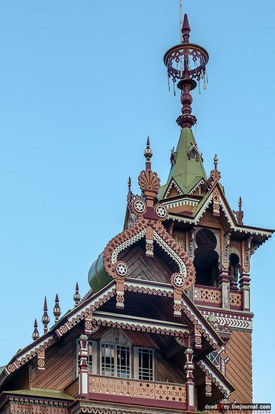 Wooden Palace in Astashovo, Kostroma region, Russia, photo 17