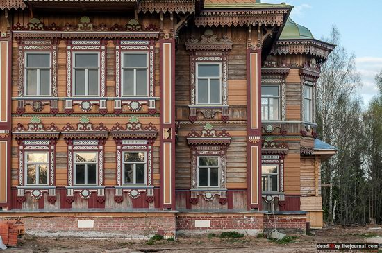 Wooden Palace in Astashovo, Kostroma region, Russia, photo 18
