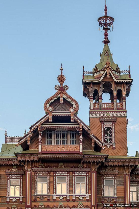 Wooden Palace in Astashovo, Kostroma region, Russia, photo 19