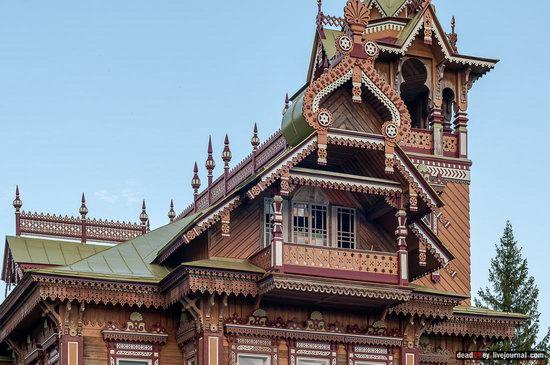 Wooden Palace in Astashovo, Kostroma region, Russia, photo 20