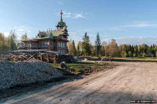 Wooden Palace in Astashovo, Kostroma region, Russia, photo 21