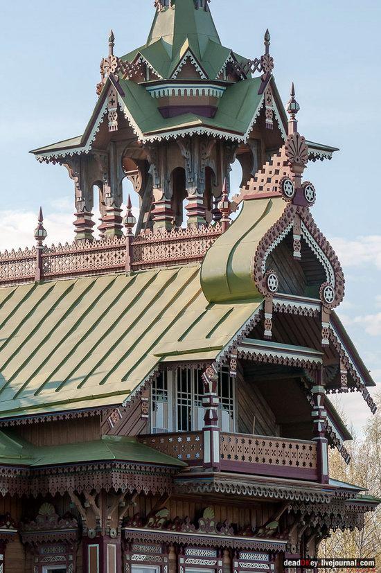 Wooden Palace in Astashovo, Kostroma region, Russia, photo 22