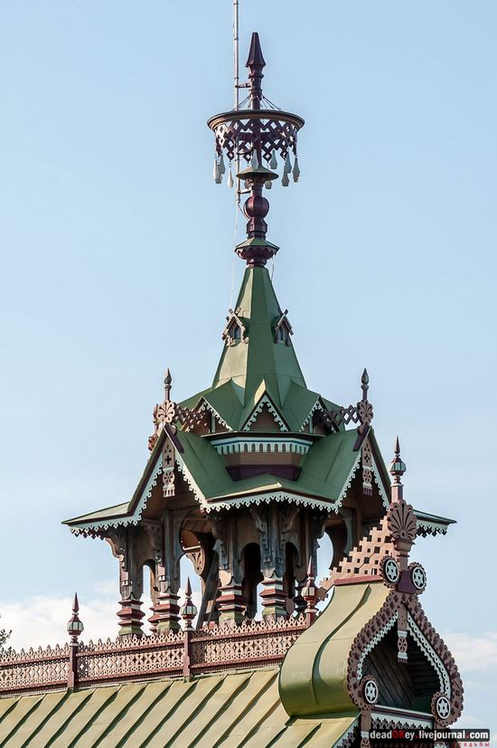 Wooden Palace in Astashovo, Kostroma region, Russia, photo 23