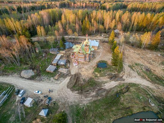 Wooden Palace in Astashovo, Kostroma region, Russia, photo 3