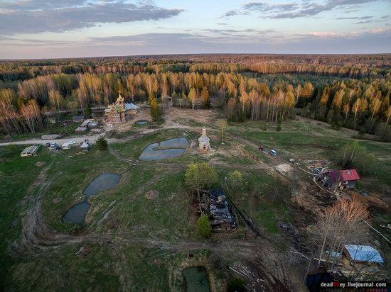 Wooden Palace in Astashovo, Kostroma region, Russia, photo 7