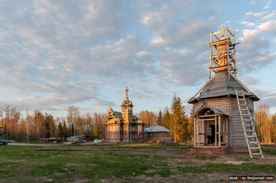 Wooden Palace in Astashovo, Kostroma region, Russia, photo 8