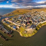 Anadyr – the view from above