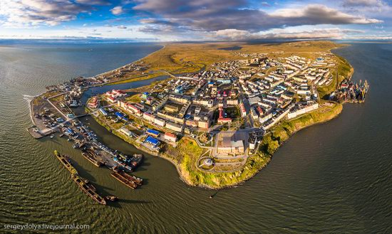 Anadyr from above, Russia, photo 1