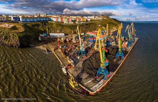 Anadyr from above, Russia, photo 17