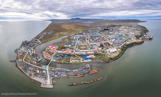 Anadyr from above, Russia, photo 2