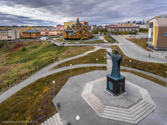 Anadyr from above, Russia, photo 24