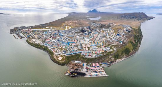 Anadyr from above, Russia, photo 3