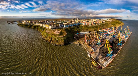 Anadyr from above, Russia, photo 4