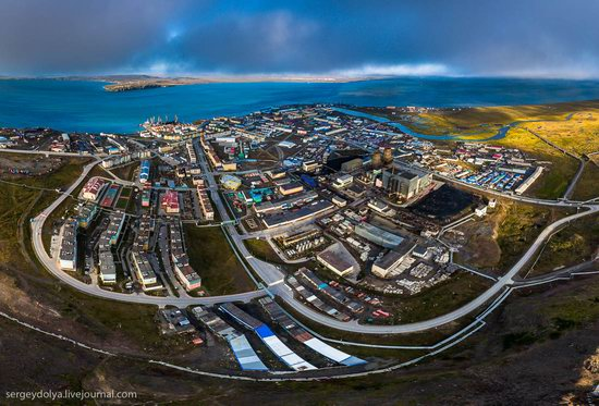 Anadyr from above, Russia, photo 5