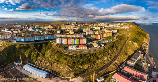 Anadyr from above, Russia, photo 8