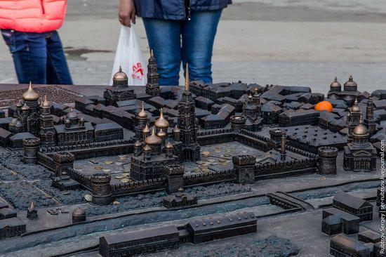 Bronze monument Miniature Tula, Russia, photo 4