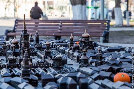 Bronze monument Miniature Tula, Russia, photo 9