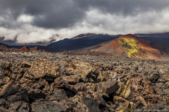 The lava fields of Tolbachik, Kamchatka, Russia, photo 1