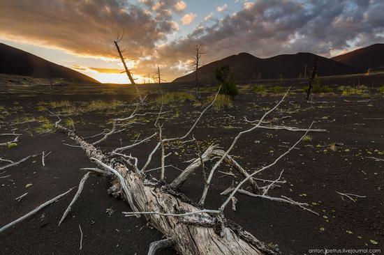 The lava fields of Tolbachik, Kamchatka, Russia, photo 10