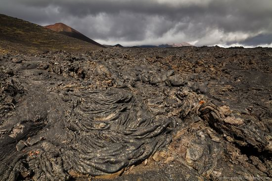 The lava fields of Tolbachik, Kamchatka, Russia, photo 2
