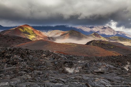 The lava fields of Tolbachik, Kamchatka, Russia, photo 3