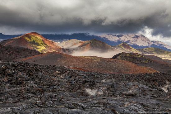 The lava fields of Tolbachik, Kamchatka, Russia, photo 3