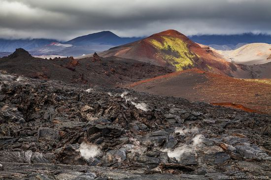 The lava fields of Tolbachik, Kamchatka, Russia, photo 4