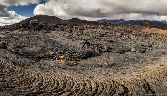 The lava fields of Tolbachik, Kamchatka, Russia, photo 5