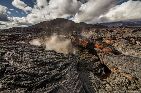The lava fields of Tolbachik, Kamchatka, Russia, photo 6
