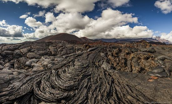 The lava fields of Tolbachik, Kamchatka, Russia, photo 7