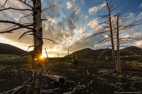 The lava fields of Tolbachik, Kamchatka, Russia, photo 8